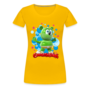 Gummibär Bubbles Ladies Girlie T-Shirt - Women's Premium T-Shirt