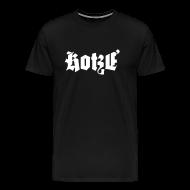 T-Shirts ~ Männer Premium T-Shirt ~ Kotzé klassisch weiß xxxl