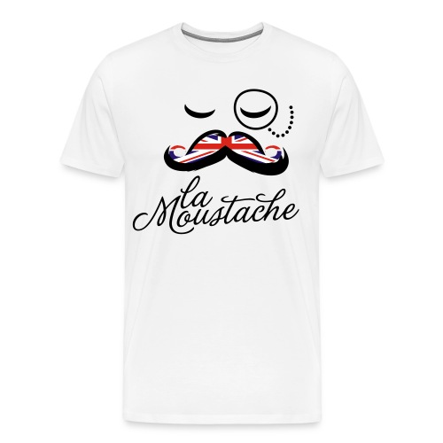 Moustache England - Men's Premium T-Shirt