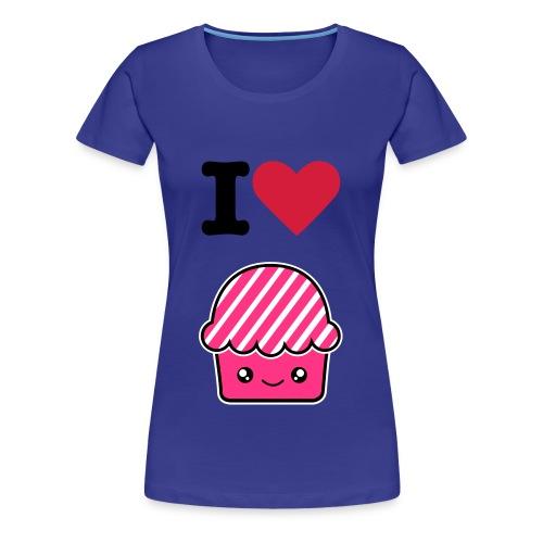 I love Muffin - Maglietta Premium da donna