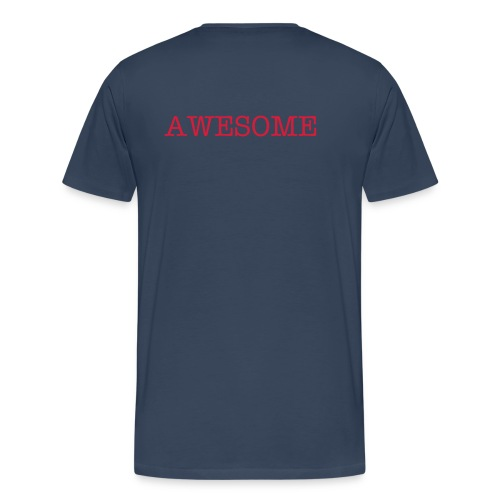 AWESOME-Shirt - Männer Premium T-Shirt