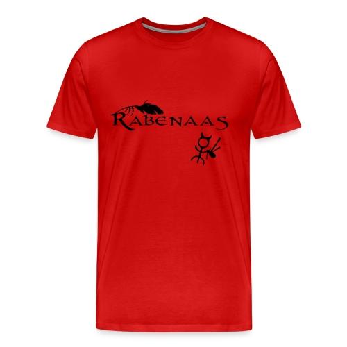 Rabenaas derMächtige Edition rot - Männer Premium T-Shirt