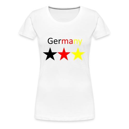 Germany Shirt  - Frauen Premium T-Shirt