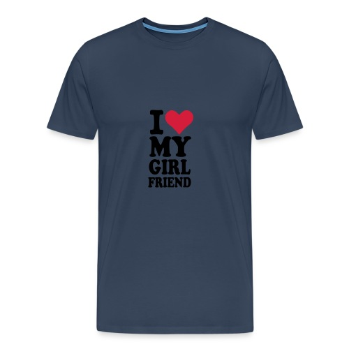 Quiero a mi amiga.Camiseta hombre - Camiseta premium hombre