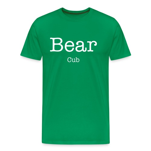 bear cub mens T shirt  - Men's Premium T-Shirt