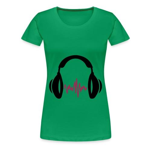 I love music - Vrouwen Premium T-shirt