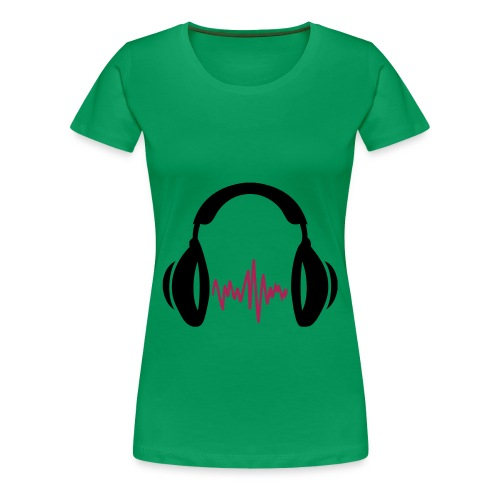 I love music - Vrouwen Premium T-shirt