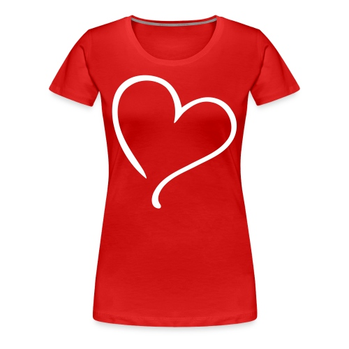 Love T - Shirt Dames - Vrouwen Premium T-shirt