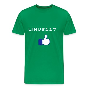 Linus117 Like - Men's Premium T-Shirt