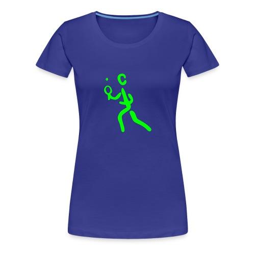 Tischtennis Shirt - Frauen Premium T-Shirt