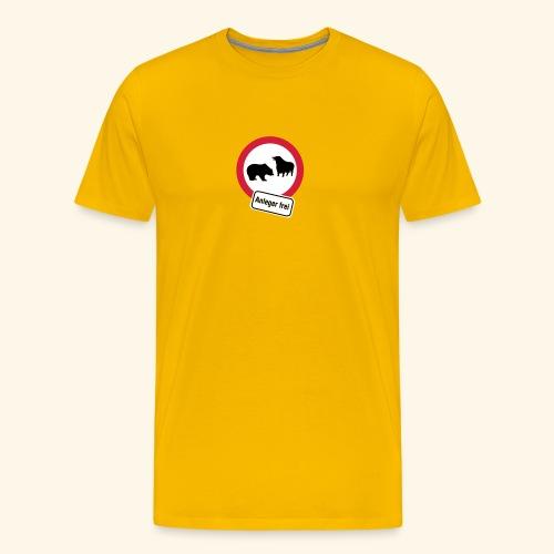 Anleger frei, Kerlie - Männer Premium T-Shirt