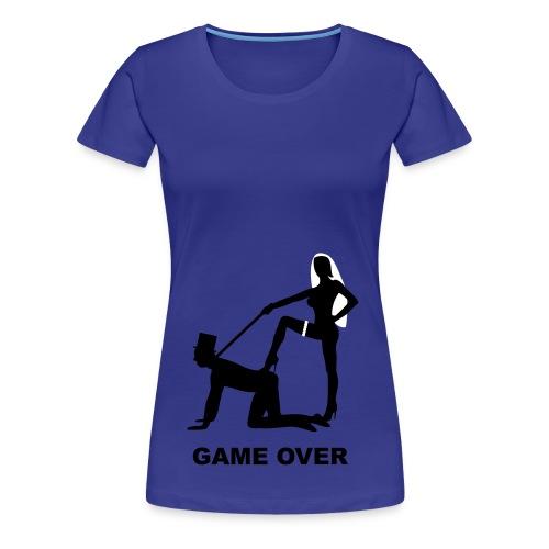 Game over - Vrouwen Premium T-shirt