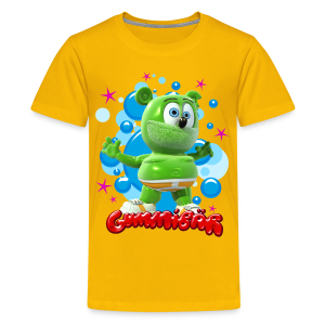 Gummibär Bubbles Teenager T-Shirt - Teenage Premium T-Shirt