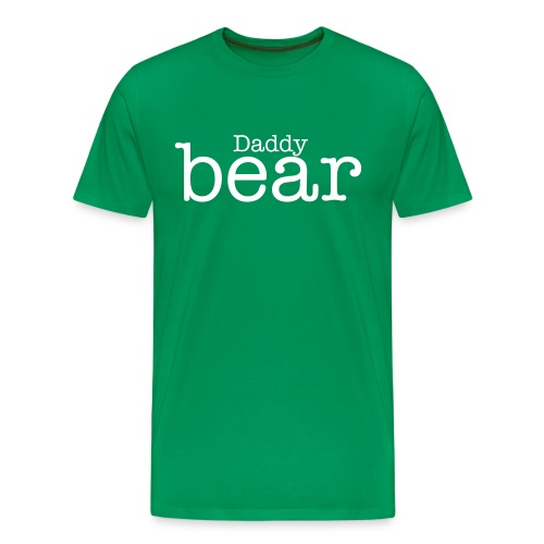 Daddy bear mens T shirt  - Men's Premium T-Shirt