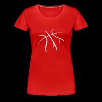 Tee shirt Premium Femme avec motif Basket-ball Basketball Basket
