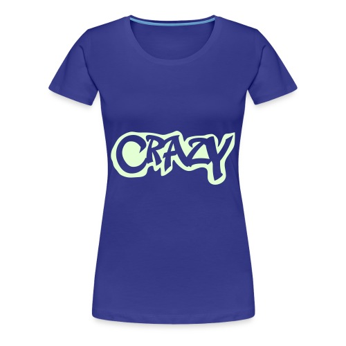 Crazy-Blue for Women´s - Frauen Premium T-Shirt
