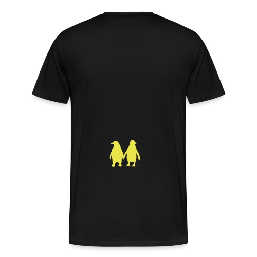 Penguin t-shirt - Men's Premium T-Shirt