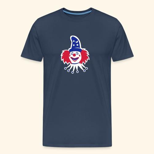 Clown, Biggie - Männer Premium T-Shirt