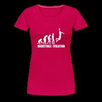 Tee shirt Premium Femme avec motif Evolution Basket Dunk