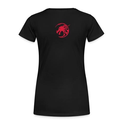 tee-shirt femme dragon - T-shirt Premium Femme