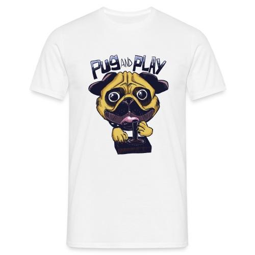 Pug & Play - Maglietta da uomo