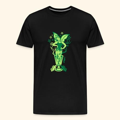 Absinth, Biggie - Männer Premium T-Shirt