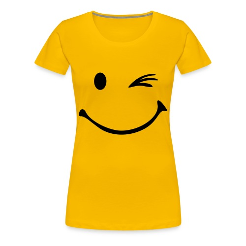 Smile ;-) - Frauen Premium T-Shirt