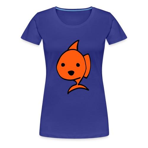 Dames T-shirt Goudvis - Vrouwen Premium T-shirt