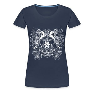 Living for the Moment - Girls white - Frauen Premium T-Shirt