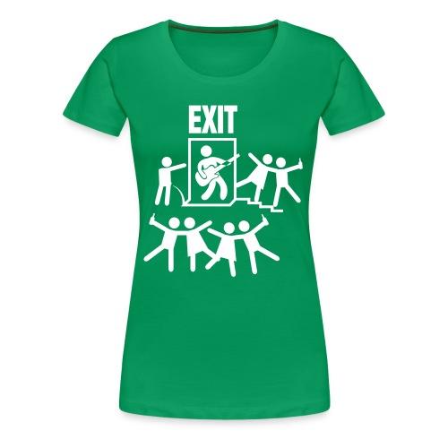 Exit Festival - Vrouwen Premium T-shirt