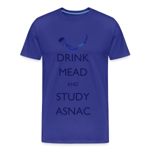 Drink Mead and study - Men's Premium T-Shirt