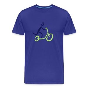 Kickbike Shirt - Männer Premium T-Shirt
