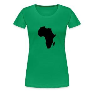 Afrika - Women's Premium T-Shirt