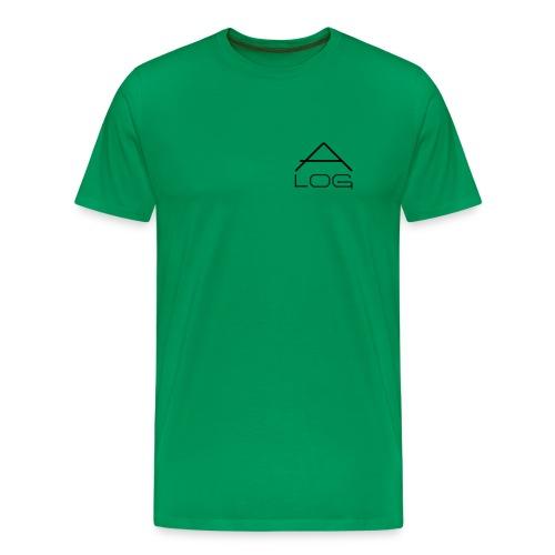 CLASSIC SHIRT / MALE / LOGOS BLACK - Männer Premium T-Shirt