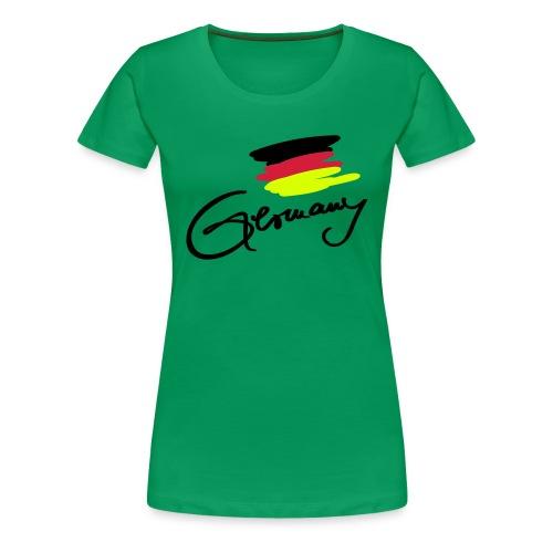 German Girl - Frauen Premium T-Shirt