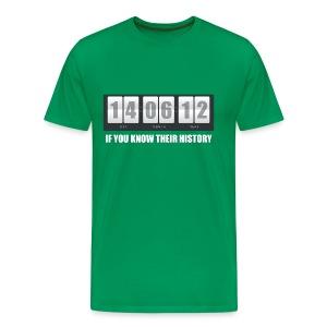 Their History - Men's Premium T-Shirt