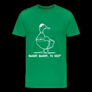 T-Shirts ~ Men's Premium T-Shirt ~ Cosby Duck