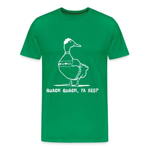 Cosby Duck - Men's Premium T-Shirt