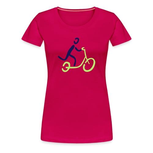 Kickbike Shirt - Frauen Premium T-Shirt