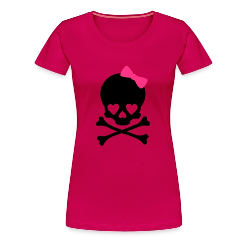 girly dead - Frauen Premium T-Shirt