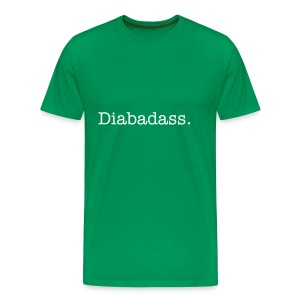 Diabadass Mens big & tall  - Men's Premium T-Shirt