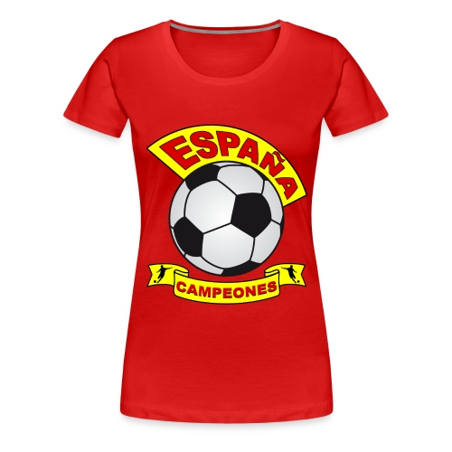 España football - Women's Premium T-Shirt