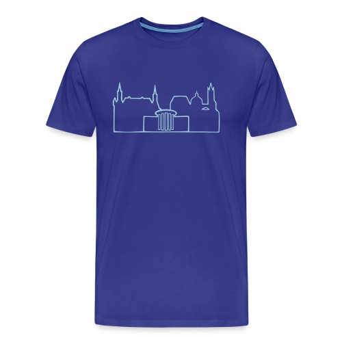 Skyline Aachen Shirt - Männer Premium T-Shirt
