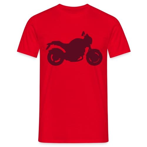 Monster Red - Maglietta da uomo