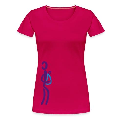 Tragetuch Shirt - Frauen Premium T-Shirt