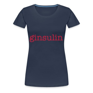 Ginsulin Womens Plus - Women's Premium T-Shirt
