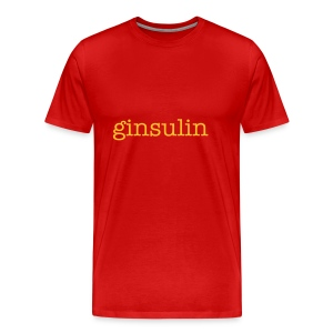 Ginsulin Mens Big and Tall T - Men's Premium T-Shirt