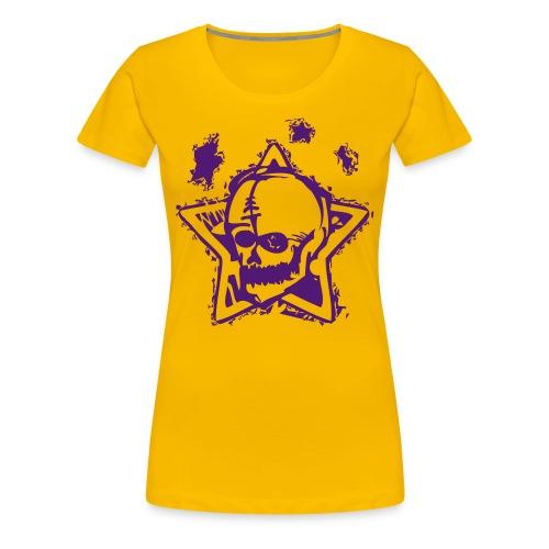 Classic SkullHead - Frauen Premium T-Shirt
