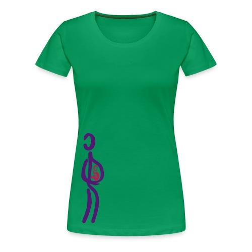 Schwangerschafts-Shirt - Frauen Premium T-Shirt