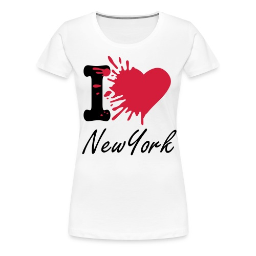 I Love New York - Women's Premium T-Shirt